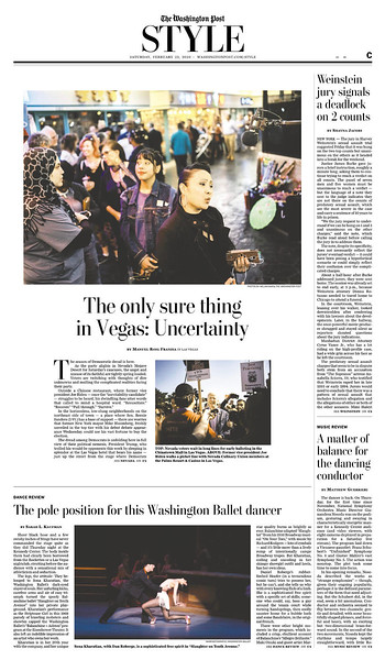 The Washington Post, Style Section