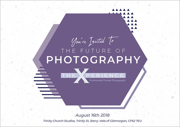 The future of photography invitation