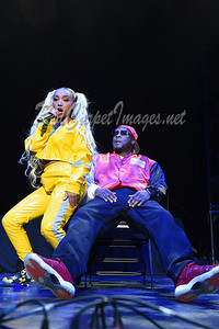 DETROIT, MI - DECEMBER 21:  Zonnique performs on stage at Little Caesars Arena on December 21, 2017 in Detroit, Michigan. (Photo by: Aaron J. / RedCarpetImages.net)