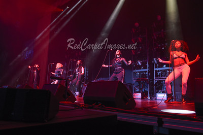 DETROIT, MI - DECEMBER 21:  June's Diary performs on stage at Little Caesars Arena on December 21, 2017 in Detroit, Michigan. (Photo by: Aaron J. / RedCarpetImages.net)