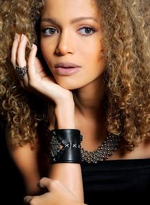 Model - Victoria De Blauss - Photography & Image Edit by xtaros  Credits - Make Up Artist: Luis Piedrahita, Jewellery: Liquid Metal