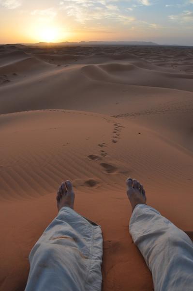 Dunes of Merzouga Morocco