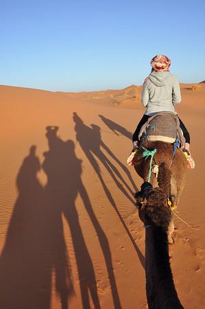 Sahara Desert Merzouga Morocco Camel Safari, The Sahara Desert