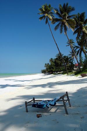 Location:  Zanzibar, Tanzania Paje beach in the middle of the east coast of Zanzibar.