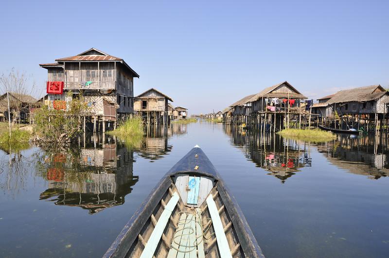 Inle Lake, Floating City