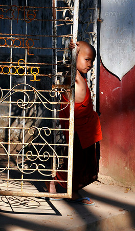 Hsipaw, Young Monk