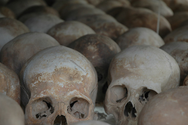 Skull Tower, Killing Fields Phnom Penh