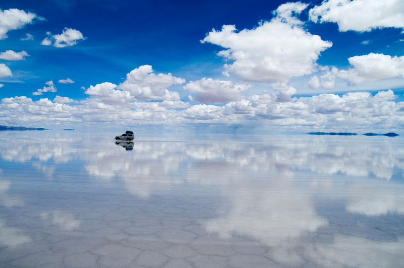 Uyuni Salt flats, Bolivia, South America