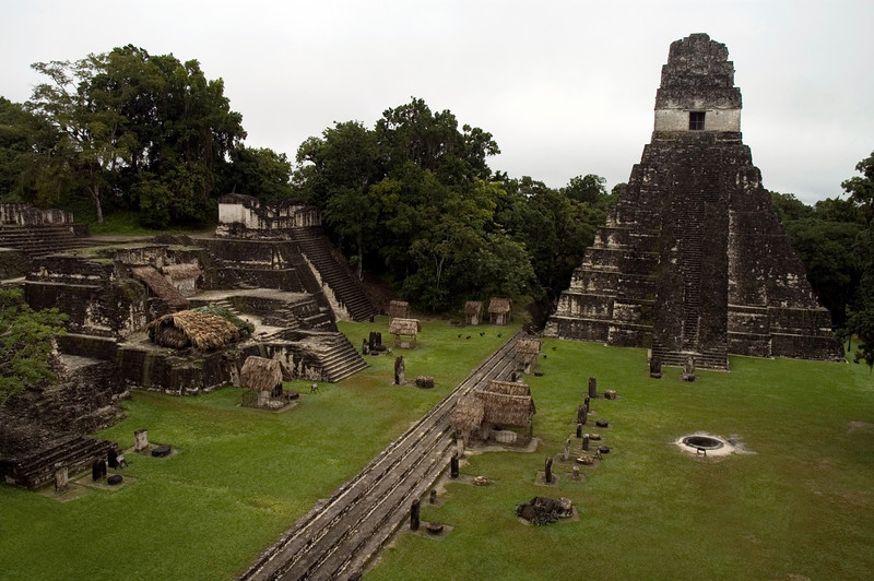 Location: Tikal Ruins, Guatemala