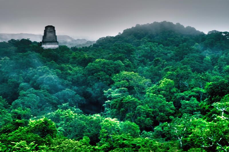 Mayan Ruins in Takal Guatemala