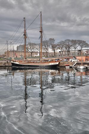 Traditional spanish sailing ship Barcelona, Spain