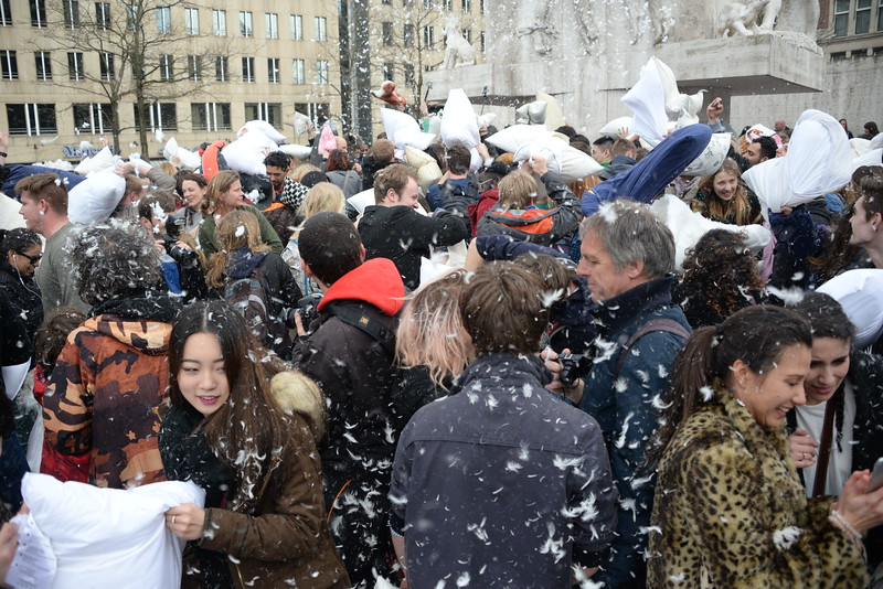 Amsterdam International Pillow Fight Day