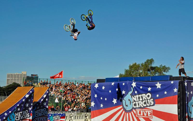 Australian Grand Prix, Nitro circus show