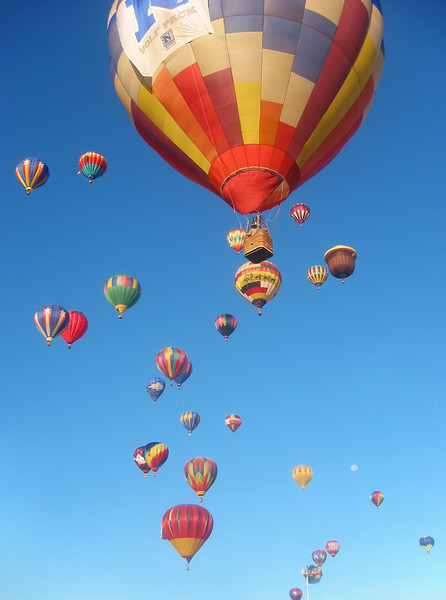 HotAir Balloon Race, Reno, Nevada