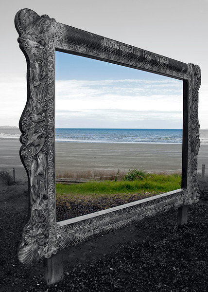 Picture Frame By the beach