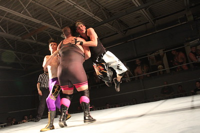 Alpha Squad vs. Jon Steele, Joey Bones, 2 Buff & Todd Harris with Buff Dad