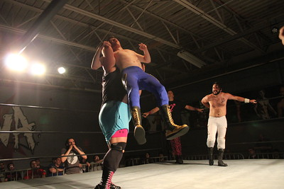 Nick Delta with Alpha Squad vs. Todd Harris with Jonathan Steele