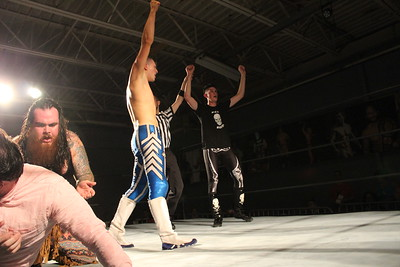 Izzy Star & CPA vs. Brett Domino & Joey Bones