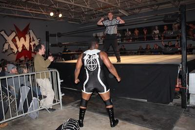 Xtreme Wrestling Alliance 6 Month Thursday Night Throwdown March 16, 2017  Mr. Grim vs. Wrecking Ball Legursky