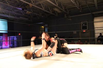 Xtreme Wrestling Alliance Thrusday Night Throwdown March 23, 2017 Jawsolyn with Ashley Vox vs. Isana