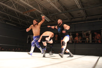 Xtreme Wrestling Alliance Thrusday Night Throwdown March 23, 2017 Alpha Squad (Nick Delta & Dexter Leux) vs. Adrenline Rush (Daniel Evans & Keith Youngblood)
