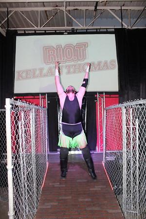 """Xtreme Wrestling Alliance Thrusday Night Throwdown March 23, 2017 Patrick Dalton vs. """"Riot"""" Kellan Thomas"""