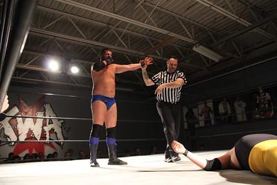 Xtreme Wrestling Alliance Thursday Night Throwdown March 9, 2017 Manny The Fisherman vs. Daniel Evans