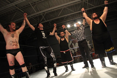 The Alpha Squad vs. The Gamble Brothers, Joey Bones & Sully Banger