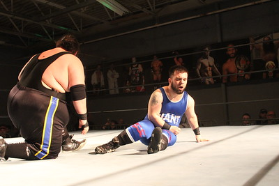 The Gamble Brothers (Robbie & Mike) vs. Cam Zagami & Tyler Nitro