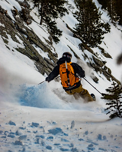 Ski Wavel Y-Couloir