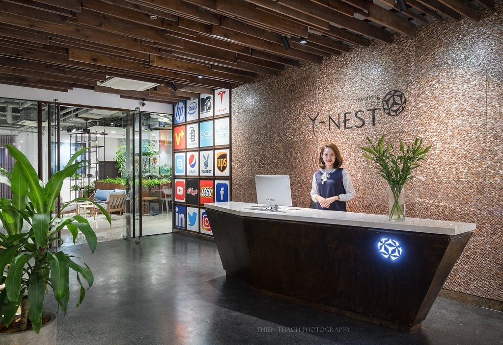 Y-Nest Coworking Space  by  CKAA, JSC