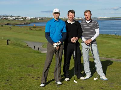Sigurbjörn Hlíðar Jakobsson, Andrés Magnússon og Kristinn G. Þórarinsson.