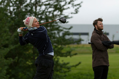 """Pétur Freyr Pétursson, ,,speed-golfari"""" og fyrrum félagsmaður í GR."""