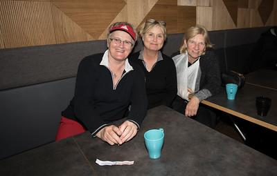 Oddný Sigsteinsdóttir, Steinunn Sæmundsdóttir og Anna Gunnarsdóttir.