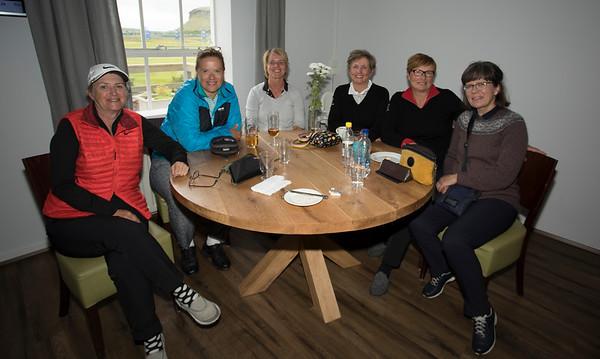 Frá vinstri: Jóhannna Bárðardóttir, Ingibjörg Ketilsdóttir, Helga Friðriksdóttir, Ásgerður Sverrisdóttir, Stefanía M. Jónsdóttir og Margrét Geirsdóttir.