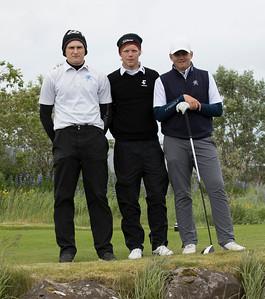 Patrekur Nordquist Ragnarsson, Guðmundur Ágúst Kristjánsson og Viktor Ingi Einarsson.
