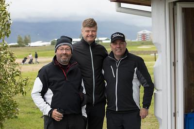 Þorsteinn Gunnarsson, Magnús Guðmundsson og Björn Ólafur Bragason.