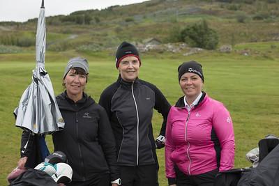 Elín Sveinsdóttir, Guðrún Gunnarsdóttir og Kristín Þóra Helgasdóttir.