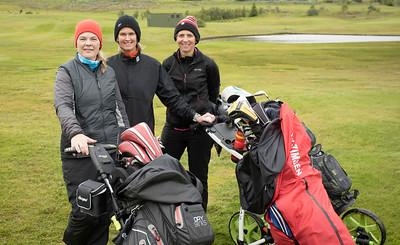 Þuríður Valdimarsdóttir, Ruth Einarsdóttir og Guðrún Másdóttir.