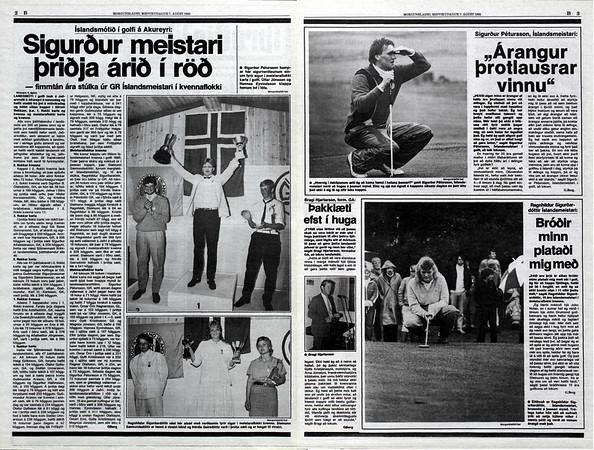 Meistari á Jaðri 1985