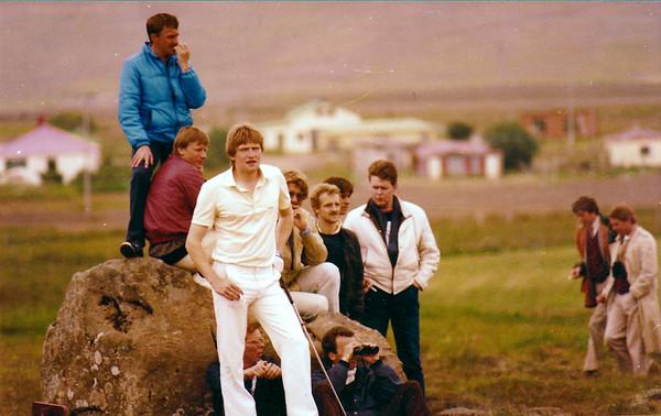 Frá Evrópumótinu 1981