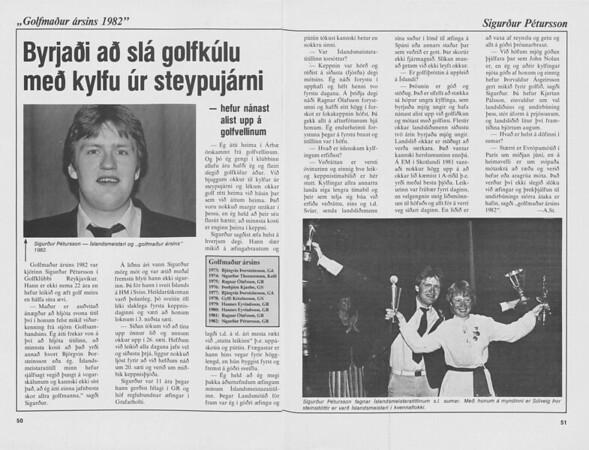 Kylfingur ársins 1982