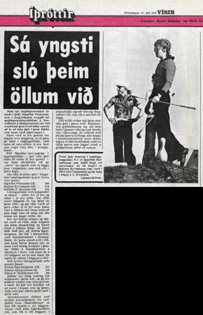 1976: Tíu högga sigur á Nesvellinum