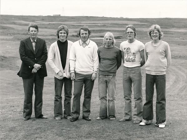 Valinn í GR-sveitina 1976