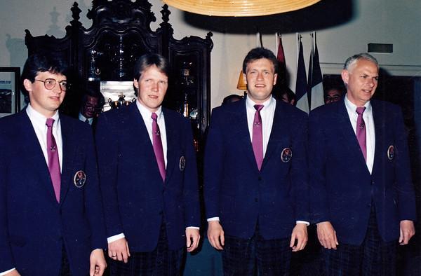 1985: Í 4. sæti á EM áhugamannaliða