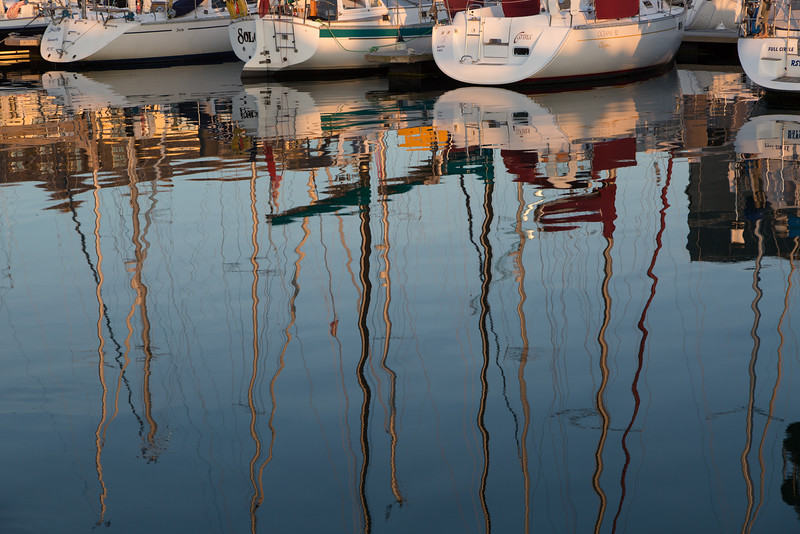 Reflections in Port Pendennis
