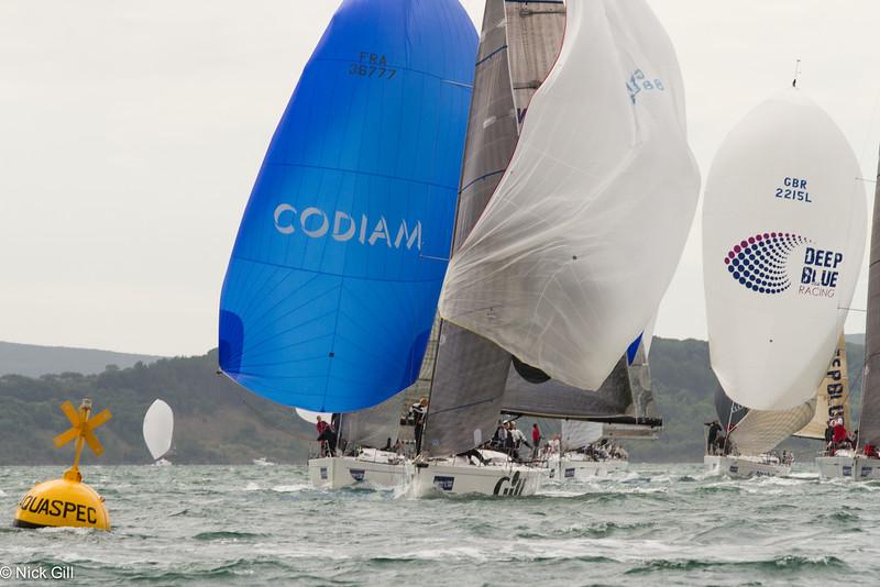 2013 Cowes Week Yacht Racing