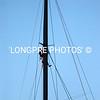 RIO crew up mast.