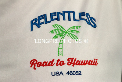 RELENTLESS shirt logo.