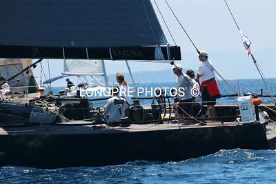 VARUNA  Rogers 46.  starboard tack